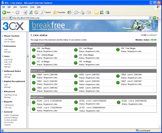 3cx phone System for Windows v5 Break free – with a software based