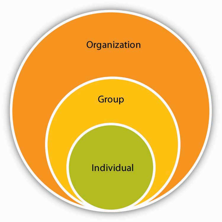 the key to understanding work organization that leads to the success of each individual That's because the key success factors for any organization are directly related to what an organization is, and how it operates in the world it's sort of like saying, to survive as a human you have to have food, water, the right temperature range and protection from danger.
